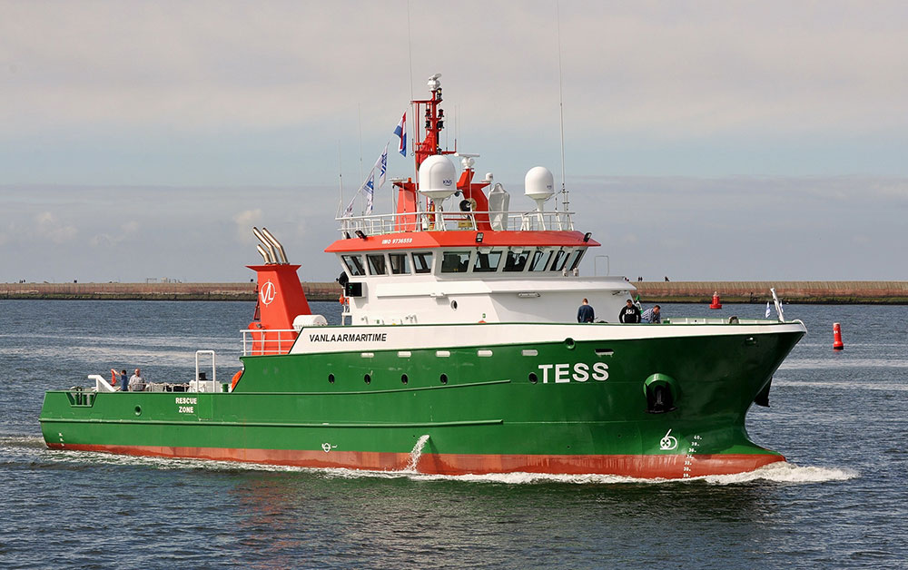for sale: Offshore service rescue vessel, IAACS class